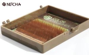 "Ресницы ""NEICHA"" MINI MIX(9-13 мм) C 0.15 Light Brown"