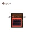 Ресницы 6 линий NEICHA  Dark Brown  mix L-изгиб Curve 0.07 микс 8-13 мм