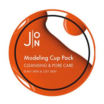 J:ON Альгинатная маска ОЧИЩЕНИЕ И СУЖЕНИЕ ПОР CLEANSING & PORE CARE MODELING PACK