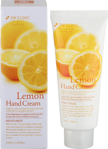 3W Clinic Увлажняющий Крем для рук с лимоном, 100 мл