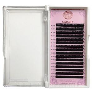 Черные ресницы Enigma микс L 0.10 6 линий 6-8 мм.