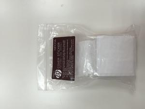 Стикеры для клея квадратные . 3.5 см