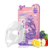 Elizavecca Тканевая маска для лица Фруктовая Fruits Deep Power Ringer mask pack 23 мл