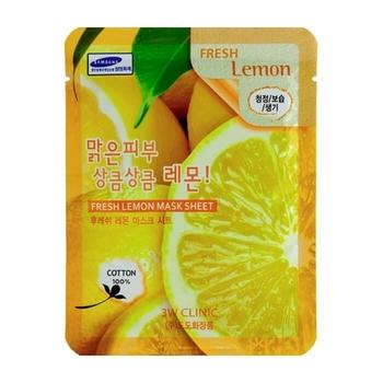 Тканевая маска для лица ЛИМОН Fresh Lemon Mask Sheet