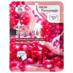 Тканевая маска для лица ГРАНАТ Fresh Pomegranate Mask Sheet,