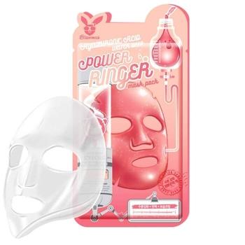 Elizavecca Ткан. маска д/лица Hyaluronic Acid Water Deep Power Ringer Mask Pack