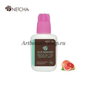 """Ремувер """"NEICHA"""" гелевый розовый (GEL TYPE GRAPEFRIUTS) 15 мл"""