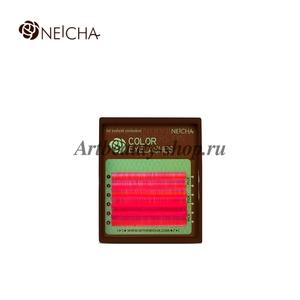 """Ресницы """"NEICHA"""" MINI MIX HOT PINK (малиновый) В 0.15"""