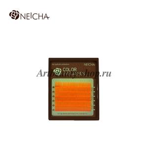 """Ресницы """"NEICHA"""" MINI MIX (8-13 мм) Orange (оранжевый) С 0.10"""