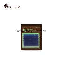 "Ресницы ""NEICHA"" MINI MIX(8-13 мм) OCEAN BLUE (аквамарин) B 0.10"