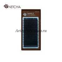 "Ресницы ""NEICHA"" TWINKLE черные (16 линий) B  0.1 Длина 6 мм"