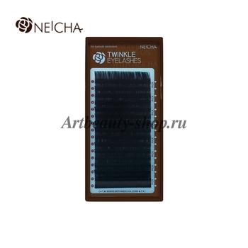 """Ресницы """"NEICHA"""" TWINKLE черные (16 линий) C 0.12 Длина 12 мм"""